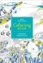 Posh Panorama Adult Coloring Book: Oceans Unfurled
