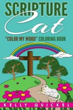 Scripture Cat: Color My Word Coloring Book