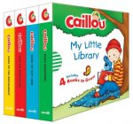 Caillou: My Little Library (4 Books to Grow)