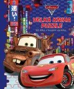 Auta 2 Velká kniha puzzle