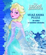 Ledové království Velká kniha puzzle