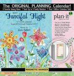 FANCIFUL FLIGHT PLANNR CALENDR DELUXE 17