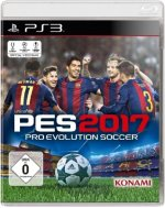 PES 2017, Pro Evolution Soccer, PS3-Blu-ray Disc