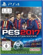 PES 2017, Pro Evolution Soccer, PS4-Blu-ray Disc