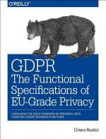 Gdpr: The Functional Specifications of Eu-Grade Privacy: Upholding the Gold Standard of Personal Data Handling Across Business Functions