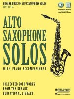 Rubank Book of Alto Saxophone Solos - Easy Level: Book with Online Audio (Stream or Download)