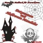 Entspannen mit Halloween Mandalas - Mandala Malbuch für Erwachsene