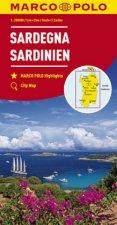 MARCO POLO Karte Sardinien 1:200 000. Sardaigne / Sardegna / Sardinia