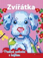Zvířátka Pixelové malování s hafíkem