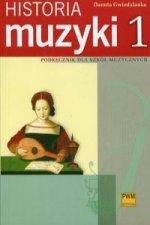 Historia muzyki 1 Podrecznik dla szkol muzycznych