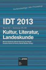 IDT 2013 Band 3.2 Kultur, Literatur, Landeskunde
