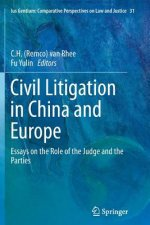 Civil Litigation in China and Europe