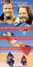 Balíček 3ks Na motorce kolem světa + Dlouhá cesta na jih + Závod do Dakaru
