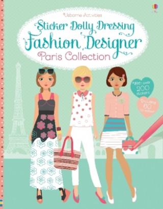 Sticker Dolly Dressing Fashion Designer Paris Collection
