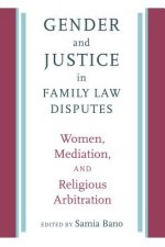 GENDER & JUSTICE IN FAMILY LAW