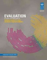Evaluation of UNDP Contribution to Gender Equality and Women's Empowerment