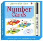 WIPE CLEAN NUMBER CARDS