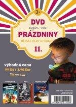 DVD nejen na Prázdniny 11. - Dětské filmy a pohádky - 3 DVD
