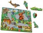 Puzzle MAXI - Džungle/20 dílků