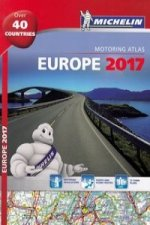 Michelin Europe 2017 Atlas