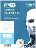 ESET NOD32 Antivirus 2017 Edition 3 User (FFP). Für Windows Vista/7/8/8.1/10