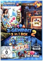 GaMons - 3-Gewinnt 3 in 1 Box 2. Für Windows Vista/7/8/8.1/10