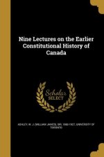 9 LECTURES ON THE EARLIER CONS