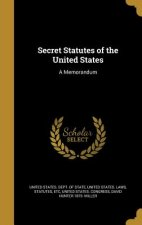SECRET STATUTES OF THE US