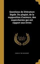 FRE-QUES DE LITTERATURE LEGALE