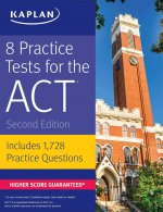 8 ACT Practice Tests: Includes 1,728 Practice Questions