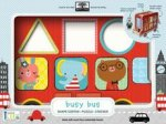 Green Start Wooden Toy Shape Sorter: Busy Bus