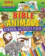 BIBLE ANIMALS STENCIL ACTIVITY