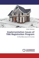 Implementation Issues of Title Registration Program