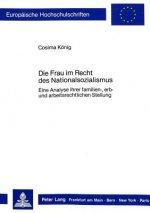 Die Frau Im Recht Des Nationalsozialismus