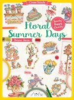 CROSS STITCH FLORAL SUMMER DAY
