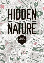 HIDDEN NATURE COLORING POSTER