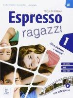 ESPRESSO RAGAZZI 1 AL + CD AUDIO + DVD