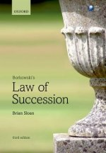 BORKOWSKIS LAW OF SUCCESSION 3E PAPERBAC