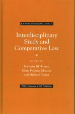 Interdisciplinary Study and Comparative Law (JCL Studies in Comparative Law No. 15)