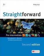 Straightforward 2nd Edition Pre-intermediate + eBook Student's Pack