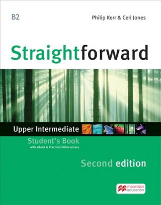 Straightforward 2nd Edition Upper Intermediate + eBook Student's Pack
