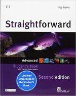 Straightforward 2nd Edition Advanced + eBook Student's Pack