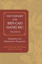 DICT OF THE BEN CAO GANG MU V0