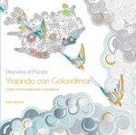 Viajando con golondrinas: Libro antiestrés para colorear