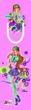 Winx club Flora - Záložka s průsekem