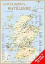 Whisky Distilleries Scotland - Poster 42x60cm - Premium Edition