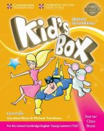 Kid's Box Starter Class Book with CD-ROM British English