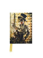 Steampunk Lady Foiled Pocket Journal
