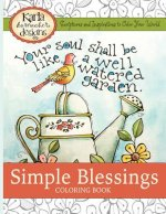 Simple Blessings Coloring Book