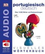 Visuelles Wörterbuch Portugiesisch Deutsch, m. Audio-App